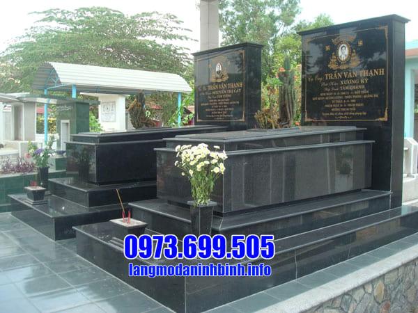 Giá lăng mộ đá granite tại Ninh Vân