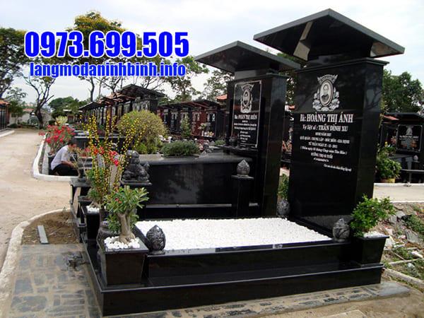 Lăng mộ đá granite đẹp Ninh Bình