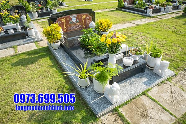 Lăng mộ đá granite Ninh Vân