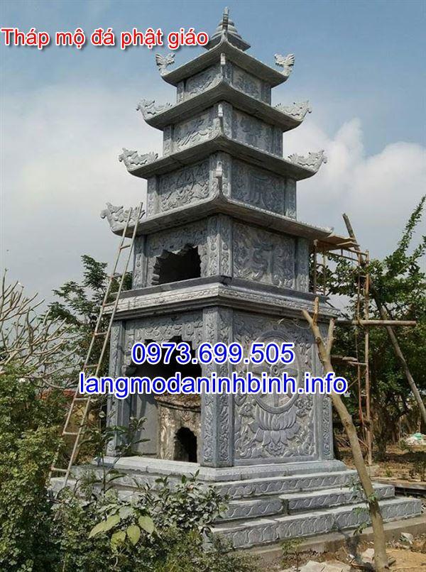 Mẫu tháp mộ đá đẹp giá rẻ nhất hiện nay