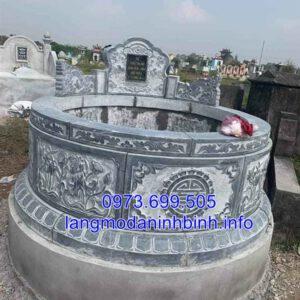 Mộ đá hình tròn - Ý nghĩa mộ đá hình tròn trong phong thủy;