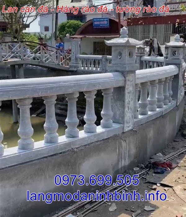 Tường rào bằng đá - Mẫu tường rào bằng đá đẹp nhất hiện nay