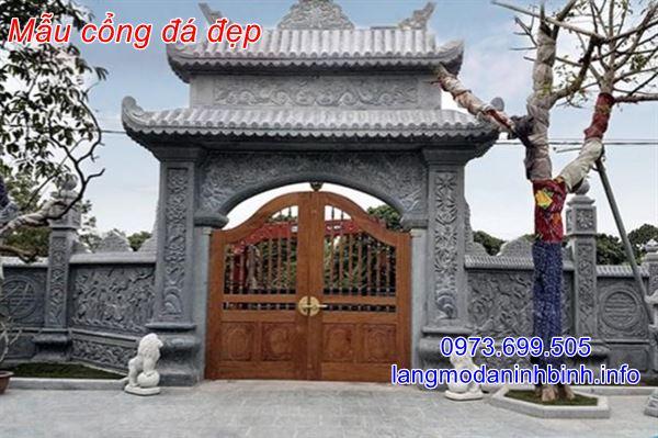 Tại sao nên đặt mua cổng đá tại Ninh Vân Ninh Bình