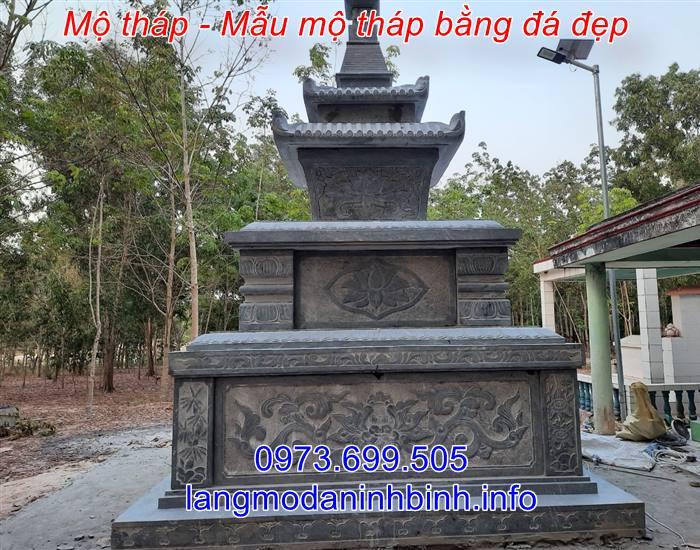 Địa chỉ xây mẫu mộ tháp đá uy tín trên toàn quốc
