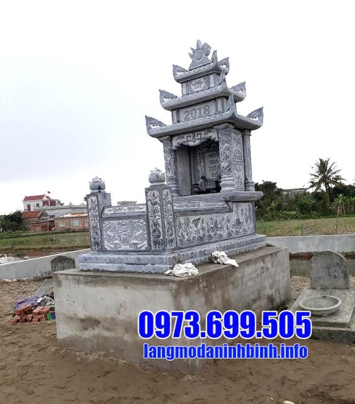 Các kiểu mộ xây đẹp