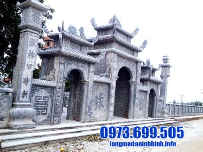 Cổng đền bằng đá - Các mẫu cổng đền bằng đá tự nhiên đẹp nhất