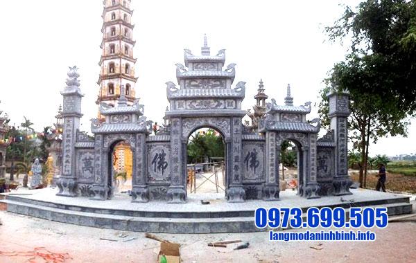 Cổng đền đá tự nhiên đẹp nhất