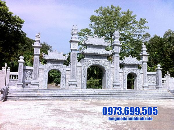 Cổng tam quan đền chùa đẹp