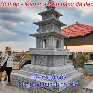 Giá mộ tháp đá - Địa chỉ xây mẫu mộ tháp đá uy tín trên toàn quốc