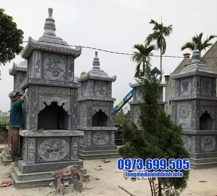 Xây mộ tháp đẹp