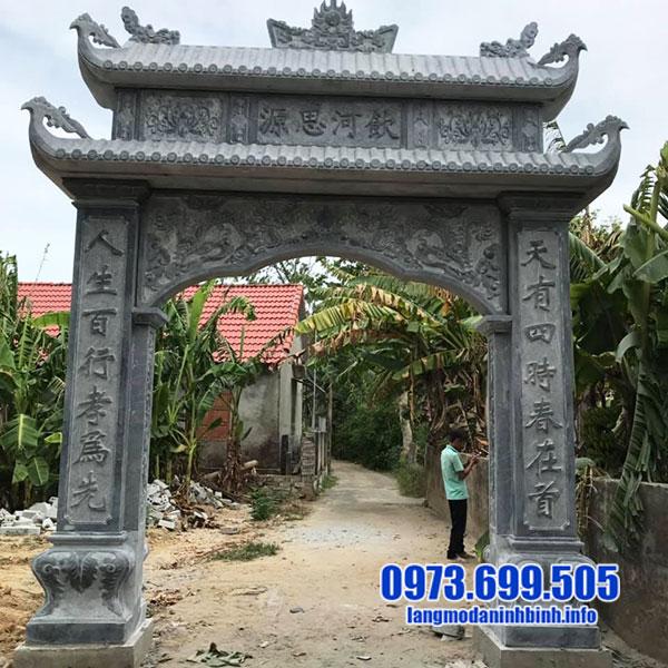 Ý nghĩa cổng nhà thờ tộc đẹp
