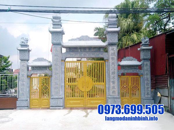 Ý nghĩa cổng nhà thờ từ đường bằng đá
