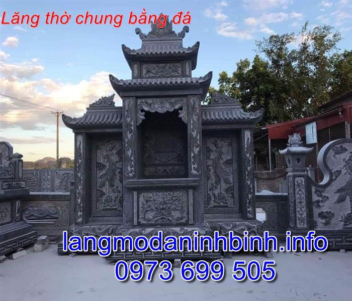 Báo giá lăng thờ đá mới nhất chính xác nhất hiện nay tai Ninh Vân Ninh Bình