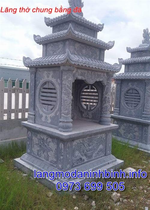 Lăng thờ đá,miếu thờ bằng đá thiết kế đơn giản giá hợp lý nhất hiện nay