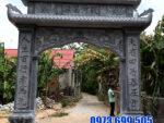 10 Hình ảnh các mẫu cổng nhà thờ họ đẹp bằng đá xanh tự nhiên