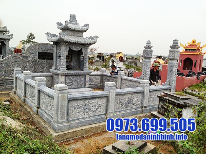 Cơ sở sản xuất lăng mộ đá uy tín