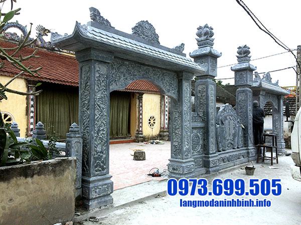 cổng đá nhà thờ từ đường
