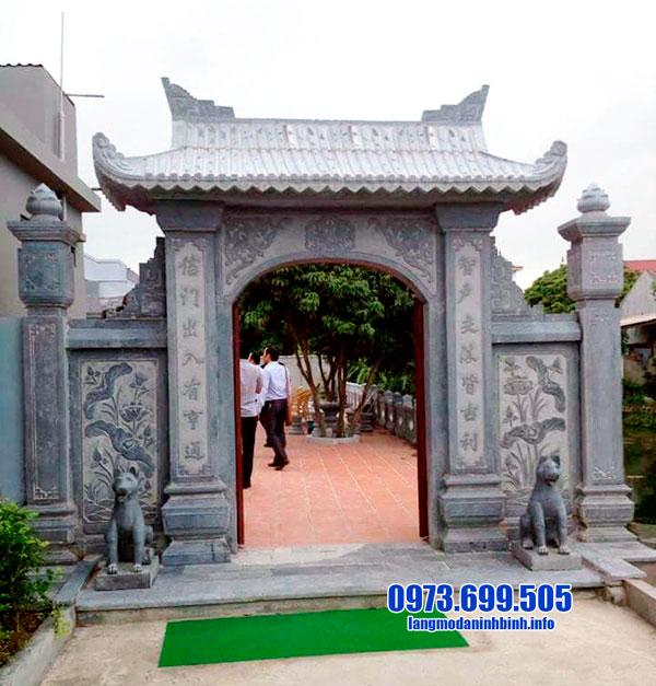 cổng nhà thờ tộc đẹp