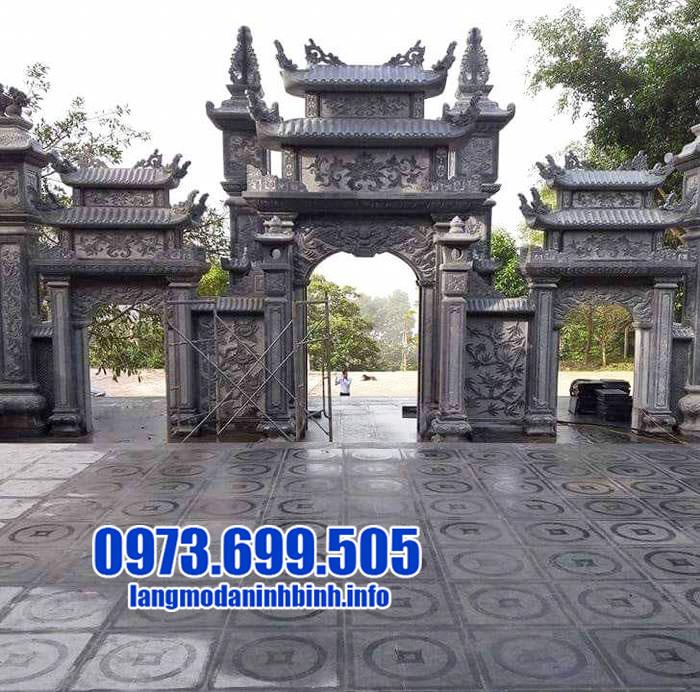 Ưu điểm mẫu cổng từ đường bằng đá của cơ sở Đá mỹ nghệ Ninh Bình