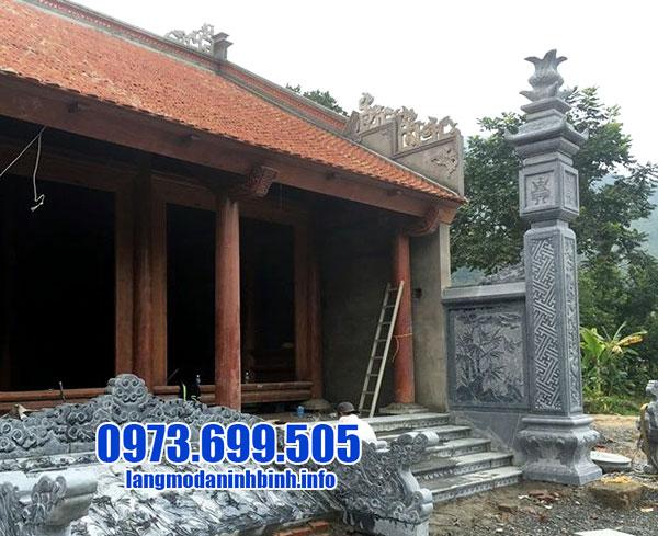 Tổng hợp các mẫu cột lửa bằng đá dành cho nhà thờ họ đẹp nhất