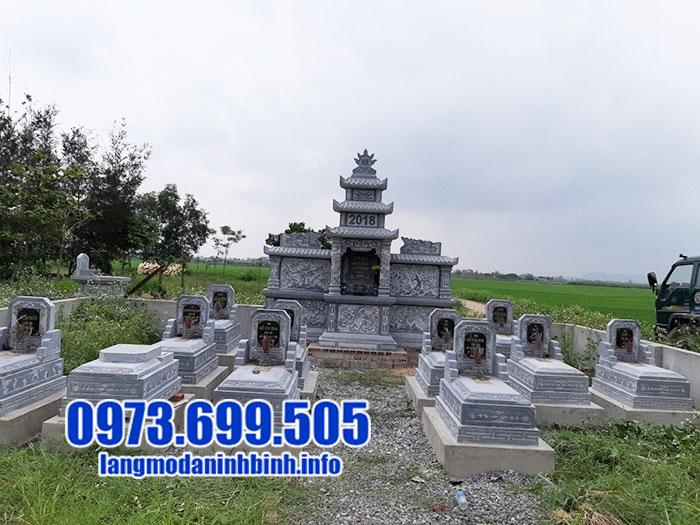 Lăng mộ đá đẹp sản xuất tại Ninh Bình