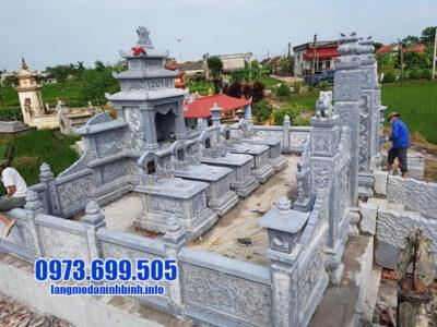 15 Hình ảnh mẫu lăng mộ đá mỹ nghệ đẹp Ninh Vân Ninh Bình