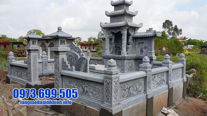mẫu lăng mộ đá ninh bình