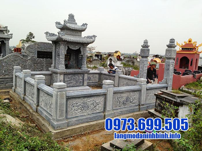 mẫu lăng mộ đá ninh vân