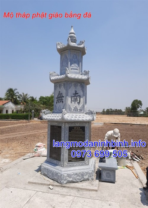 Địa chỉ chế tác và bán các mẫu mộ đá hình tháp uy tín chất lượng giá rẻ nhất hiện nay