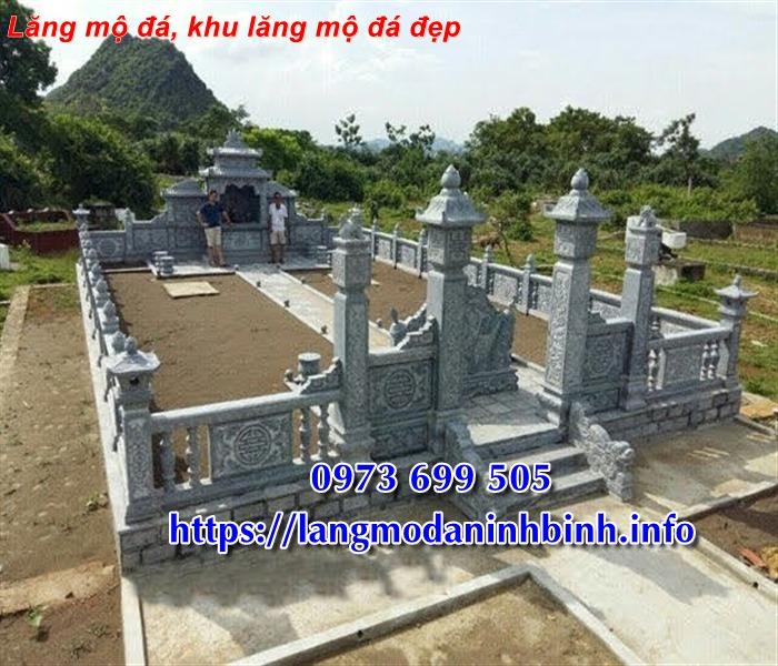 Địa chỉ bán lăng mộ đá, khu lăng mộ bằng đá đẹp tại Ninh Bình 01