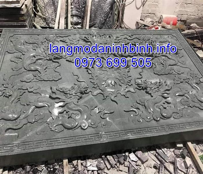Địa chỉ chế tác và bán các mẫu chiếu rồng bằng đá uy tin chất lượng giá hợp lý nhất tại Ninh Bình