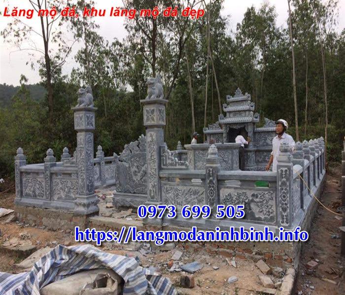 Mẫu lăng mộ bằng đá đẹp bán tại Vĩnh Phúc