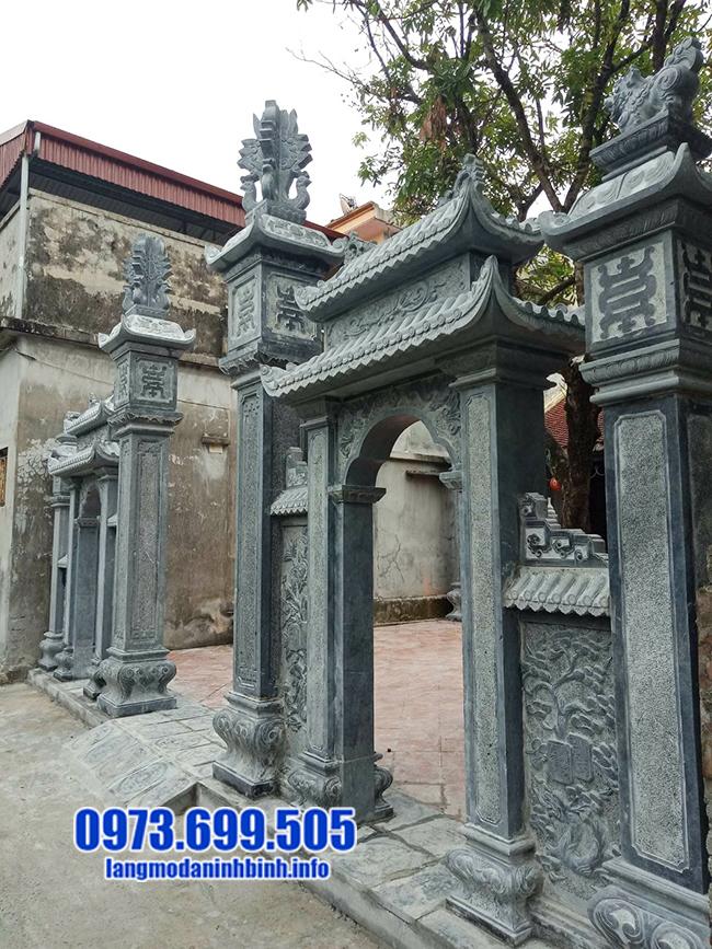 cổng tam quan bằng đá xanh