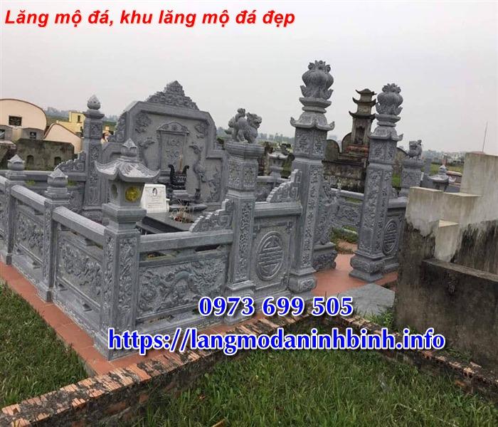 Giá lăng mộ đá, khu lăng mộ đá tại Vĩnh Phúc