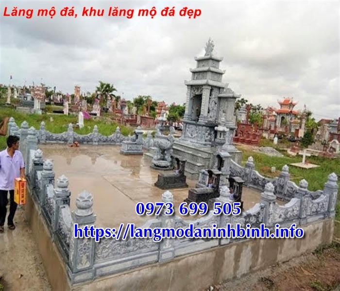 Khu lăng mộ bằng đá tự nhiên nguyên khối bán tai Vĩnh Phúc