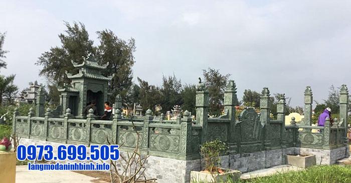 lăng mộ đá xanh rêu đẹp nhất