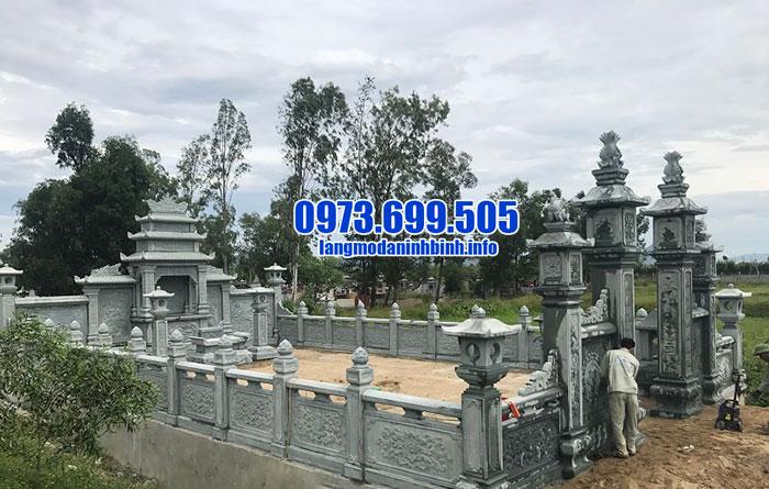Mẫu khu lăng mộ đá xanh rêu