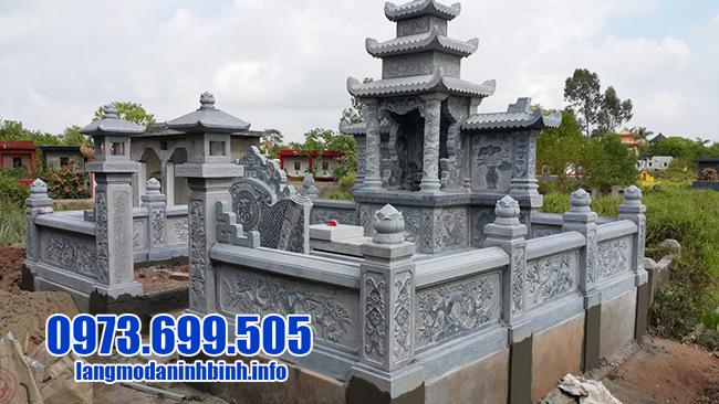 mẫu lăng mộ bằng đá ninh bình