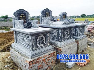 mẫu mộ tam sơn đá