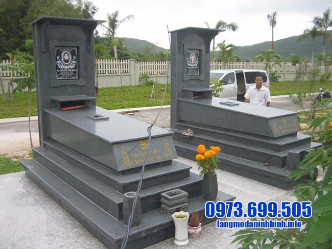 mộ granite nguyên khối đẹp nhất