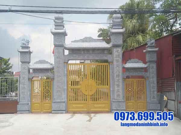 cổng đá cho nhà thờ đẹp nhất