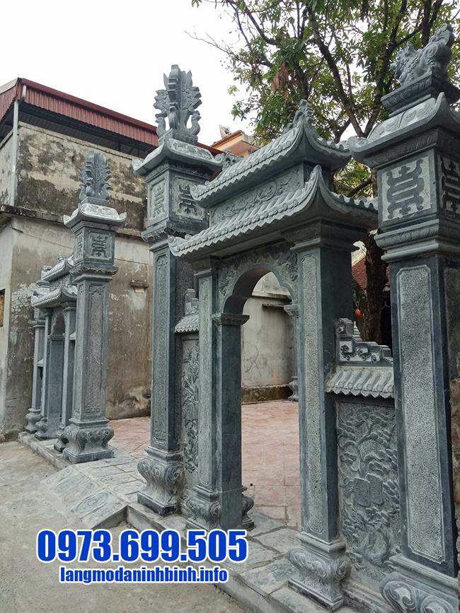 cổng chùa bằng đá đẹp nhất