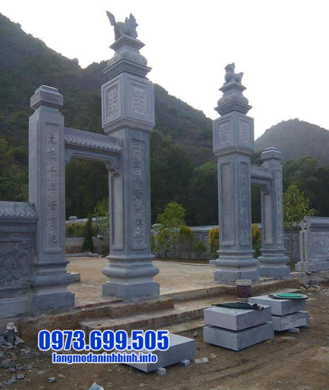 cổng chùa bằng đá đẹp