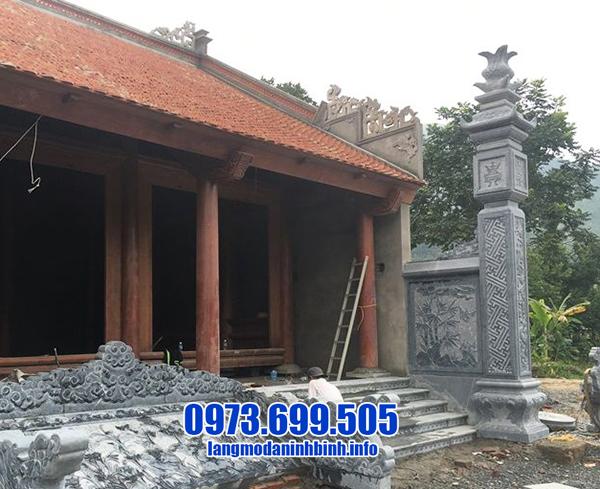 cột đồng trụ bằng đá cho nhà thờ
