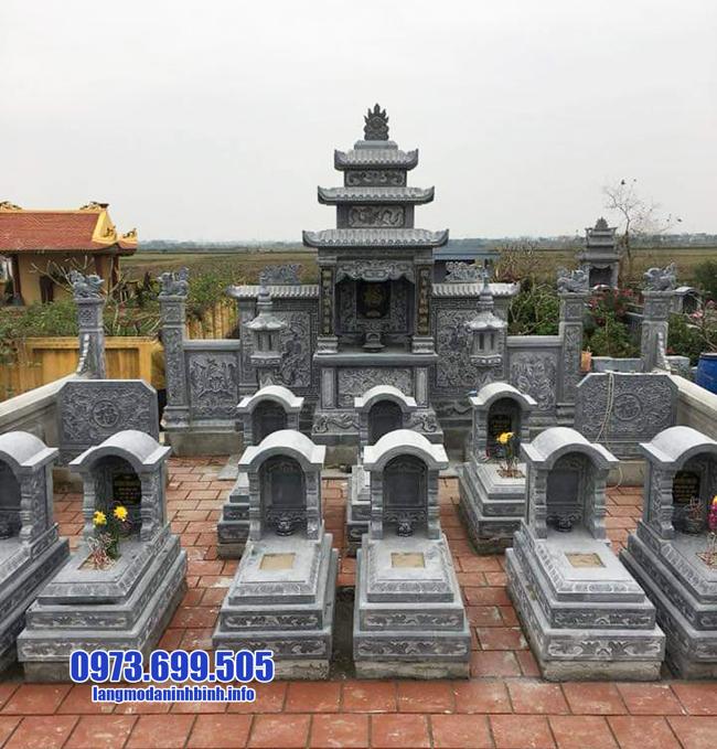 lăng mộ bằng đá của cơ sở đá mỹ nghệ ninh bình lắp đặt