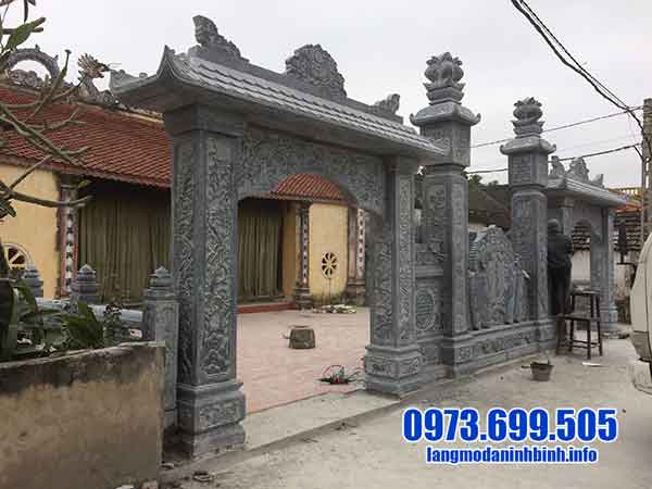 mẫu cổng nhà thờ bằng đá đẹp