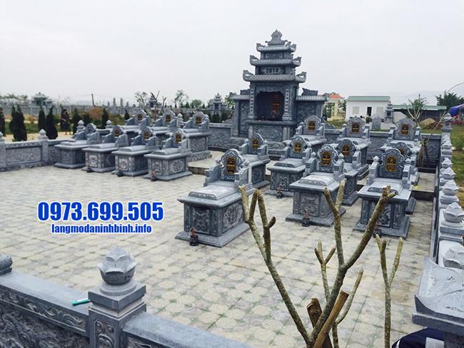 mẫu lăng mộ đẹp bằng đá xanh