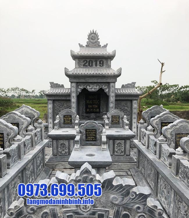 mẫu lăng mộ bằng đá tự nhiên đẹp