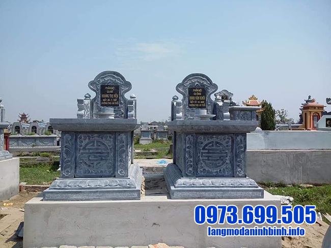 mẫu mộ đôi bằng đá đẹp