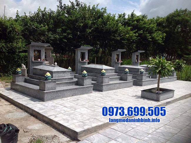 mộ đá granite đẹp nhất tại ninh bình
